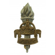 Royal Army Educational Corps (R.A.E.C.) Cap Badge - King's Crown