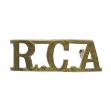 Royal Canadian Artillery (R.C.A.) Shoulder Title