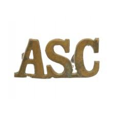 Army Service Corps (A.S.C.) Shoulder Title