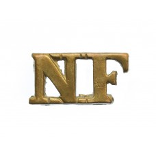 Northumberland Fusiliers (N.F.) Shoulder Title