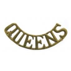 Queen's Royal West Surrey Regiment (QUEEN'S) Shoulder Title