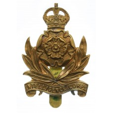 Intelligence Corps Cap Badge - King's Crown