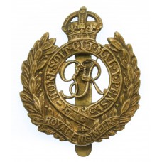 George VI Royal Engineers Cap Badge