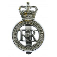 Nottinghamshire Constabulary Cap Badge - Queen's Crown