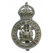 Birmingham City Police Cap Badge - King's Crown