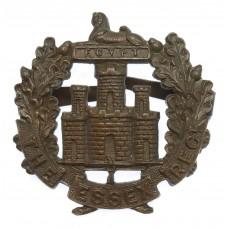 Essex Regiment Officer's Service Dress Cap badge