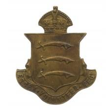 WWI Essex Volunteer Regiment VTC Cap Badge