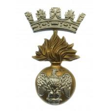 Victorian Royal Irish Fusiliers Cap Badge