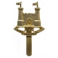 Loyal Suffolk Hussars Anodised (Staybrite) Beret Badge