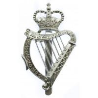 London Irish Rifles Anodised (Staybrite) Pipers Caubeen Badge