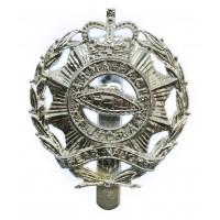 North Somerset & Bristol Yeomanry Anodised (Staybrite) Cap Badge
