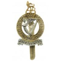 Queen's Royal Irish Hussars Anodised (Staybrite) Cap Badge