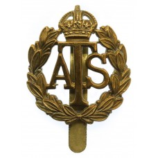 Auxiliary Territorial Service (A.T.S.) Cap Badge - King's Crown
