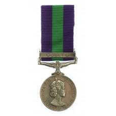 Elizabeth II General Service Medal (Clasp - Malaya) - Pte. E. Bon