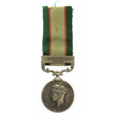 1936 Indian General Service Medal (Clasp - North West Frontier 19