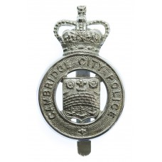 Cambridge City Police Cap Badge - Queen's Crown