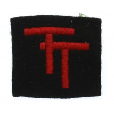 50th (Northumbrian) Division Cloth Formation Sign