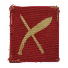 18th Infantry Brigade Printed Formation Sign