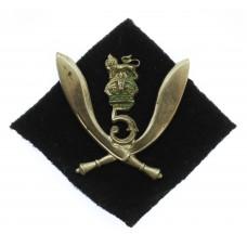 5th Gurkha Rifles (Frontier Force) Headdress Badge
