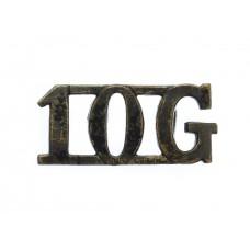 10th Gurkha Rifles (10G) Shoulder Title