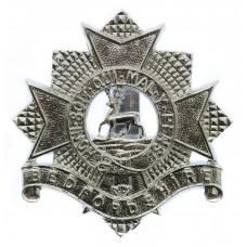 Bedfordshire Regiment (Territorials) Anodised (Staybrite) Cap Bad