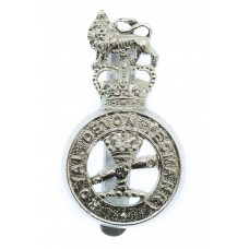 Royal Devon Yeomanry Anodised (Staybrite) Cap Badge