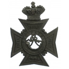 Victorian Dorset Rifle Volunteers Helmet Plate