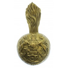 Victorian Royal Artillery Busby Badge & Plume Holder