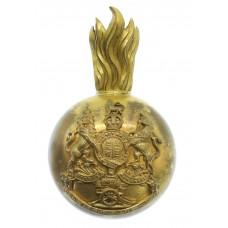 Royal Artillery Officer's Busby Badge & Plume Holder - King's