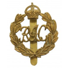 Royal Armoured Corps (R.A.C.) Cap Badge - King's Crown (Ist Patte