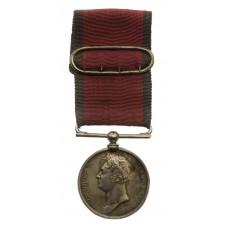 Waterloo Medal 1815 - Ensign R. Holmes, 3rd Battn. 14th Regiment of Foot