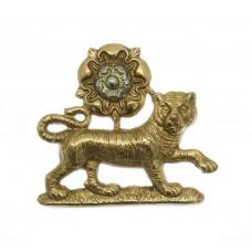 York and Lancaster Regiment Collar Badge