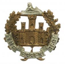 8th Battalion Essex Regiment Cap Badge