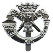 Duke of Cornwall's Light Infantry Anodised (Staybrite) Cap Badge