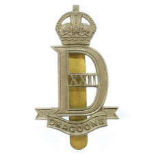 22nd Dragoon Guards Cap Badge - King's Crown