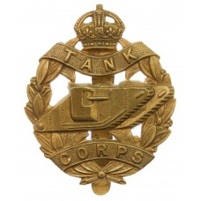 WWI Tank Corps Cap Badge