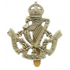 8th (Irish) Bn. The King's Liverpool Regiment Cap Badge - King's Crown