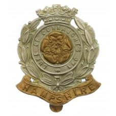 6th Bn. Hampshire Regiment (Duke of Connaught's Own) Cap Badge