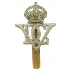 5th (Royal Inniskilling) Dragoon Guards Cap Badge - King's Crown