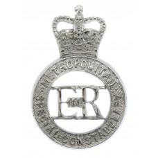 Metropolitan Special Constabulary Cap Badge - Queen's Crown