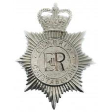 Cumbria Constabulary Helmet Plate - Queen's Crown