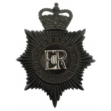 Cumbria Constabulary Night Helmet Plate - Queen's Crown