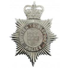 British Transport Police (B.T.P.) Helmet Plate - Queen's Crown