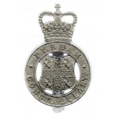 Durham Constabulary Cap Badge - Queen's Crown
