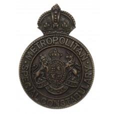 Metropolitan Police Special Constabulary Cap Badge -King's Crown