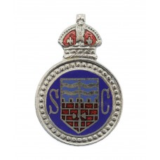 Bath City Police Special Constabulary Lapel  Badge - King's Crown