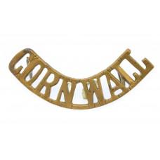 Duke of Cornwall's Light Infantry (CORNWALL) Shoulder Title