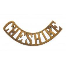 Cheshire Regiment (CHESHIRE) Shoulder Title