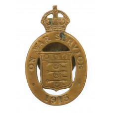 WWI 1915 On War Service Lapel Badge