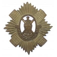 Royal Scots Helmet Plate Centre